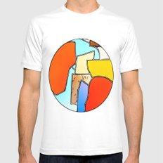 Terrene 1 Mens Fitted Tee White MEDIUM