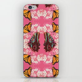 Butterfly Circle iPhone Skin