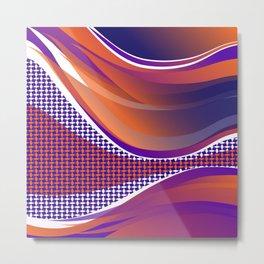 Curves 02 Metal Print