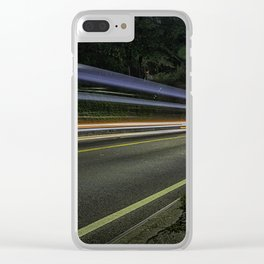 The speed of light. Clear iPhone Case