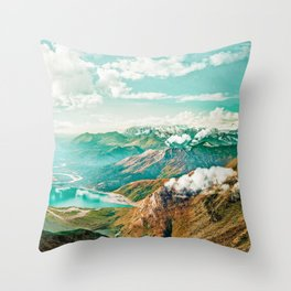 Travel Often || #photography #digitalart Throw Pillow