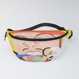 MAC MILLER---Face Art Fanny Pack