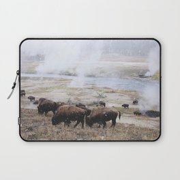 First Snow Bison Laptop Sleeve