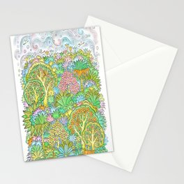 Middle of the forest Stationery Cards
