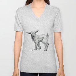 Little Goat Baby  SK134 Unisex V-Neck