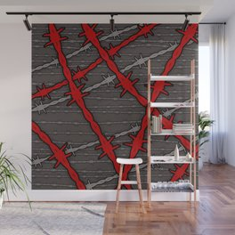 Barbed Wall Mural
