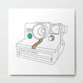 Vintage Camera - Land Camera 1000 (One Step) Metal Print