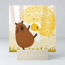 Honey Bear Mini Art Print