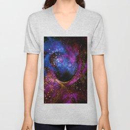 Space Fractal Unisex V-Neck