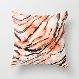 Easy Tiger Throw Pillow