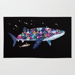 Geomatric Shark Rug