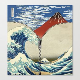 Mt. Fuji and the Wave Canvas Print