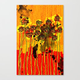 The Fence with Fragrances Canvas Print