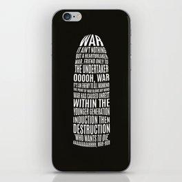 War iPhone Skin