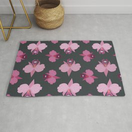 Orchids - seamless #6 Rug