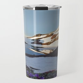 Alpine Wildflowers Travel Mug