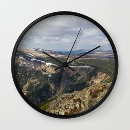 View from Sniezka Wall Clock