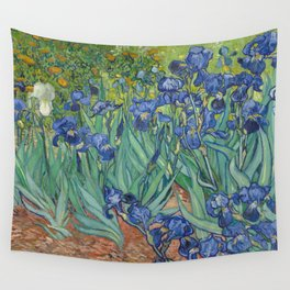 Irises by Vincent van Gogh Wall Tapestry