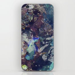 coral waters iPhone Skin