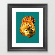 Atayah's Lion Framed Art Print