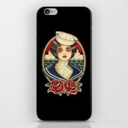 Sailor Girl Tattoo iPhone Skin