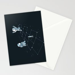 Hopscotch Astronauts Stationery Cards