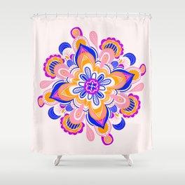 althea, mandala Shower Curtain
