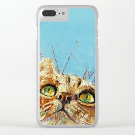 Tomcat Clear iPhone Case