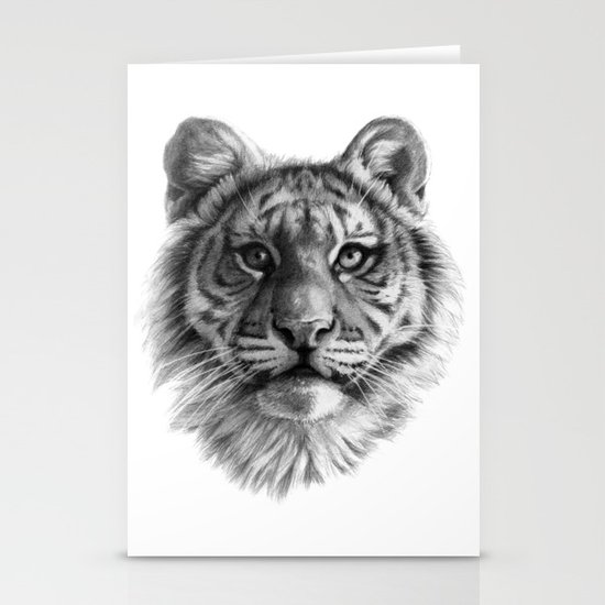 Tiger Cub SK106 Stationery Cards