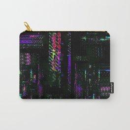 Miami Glitch Carry-All Pouch