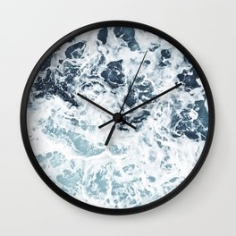 Blue Ocean Water Wall Clock
