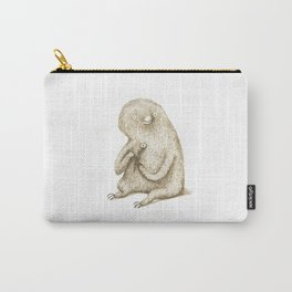 Sloth With Flower Carry-All Pouch