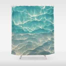 Crystal • Clear • Liquid Shower Curtain