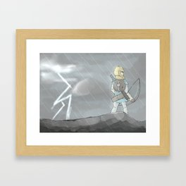 Symphony of Storms Framed Art Print