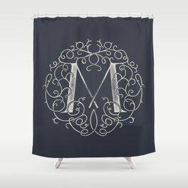 """M""ONOGRAM Shower Curtain"