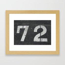 The 72 SOLD!  Framed Art Print