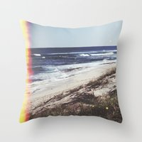 turtles Throw Pillows featuring Turtles by Mermaid's Coin Surf Art * by Hannah Kata
