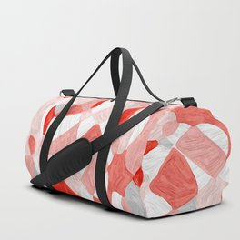 Quilt Abstract Painting 3 Beach Surf Wave Duffle Bag