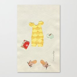 Pajama Outfit Canvas Print