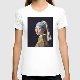 Girl With a Pearl Earring - Vermeer T-shirt