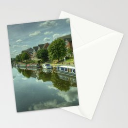 River Weaver at Northwich Stationery Cards