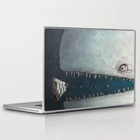 moby Laptop & iPad Skins featuring Moby Dick by Jamie Leonard
