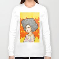 ginger Long Sleeve T-shirts featuring Ginger by Bhavana S N
