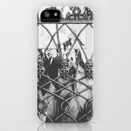 Skull Fence of New Orleans iPhone Case