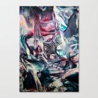 imagine Canvas Prints featuring Imagine  by ART de Luna