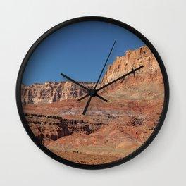 Colorful Mesas - Desert Southwest Wall Clock