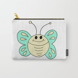 Hand drawn funny looking butterfly Carry-All Pouch