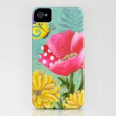Wondrous Garden Slim Case iPhone (4, 4s)