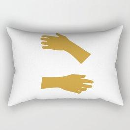 Hugs All Day Rectangular Pillow