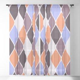 Harlequin Sheer Curtain